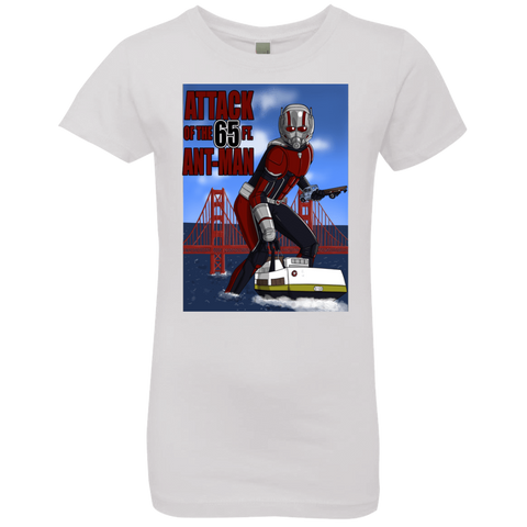 Attack of the 65 ft. Ant-Man Girls Premium T-Shirt
