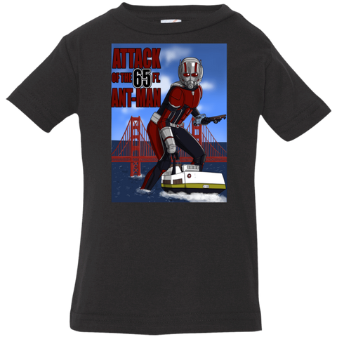 T-Shirts Black / 6 Months Attack of the 65 ft. Ant-Man Infant Premium T-Shirt