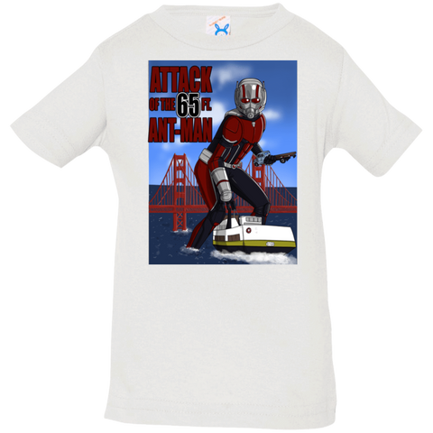 T-Shirts White / 6 Months Attack of the 65 ft. Ant-Man Infant Premium T-Shirt