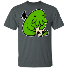 T-Shirts Dark Heather / S Baby Cthulhu T-Shirt