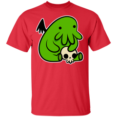 T-Shirts Red / S Baby Cthulhu T-Shirt