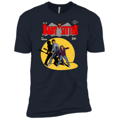 T-Shirts Midnight Navy / X-Small Babysitter Batman Men's Premium T-Shirt