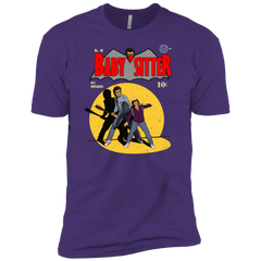 T-Shirts Purple Rush/ / X-Small Babysitter Batman Men's Premium T-Shirt