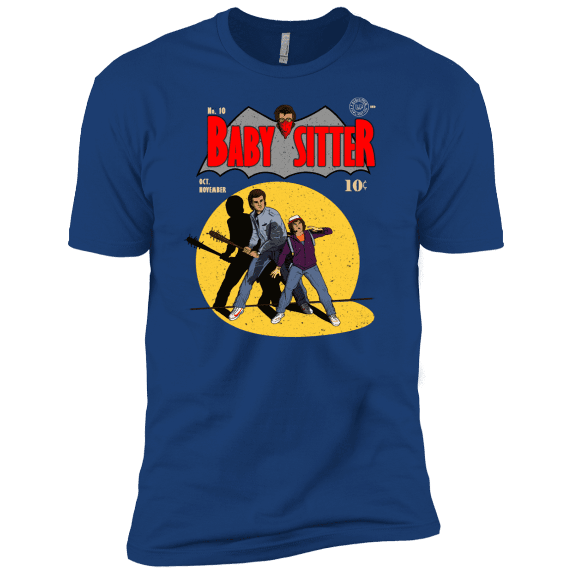 T-Shirts Royal / X-Small Babysitter Batman Men's Premium T-Shirt
