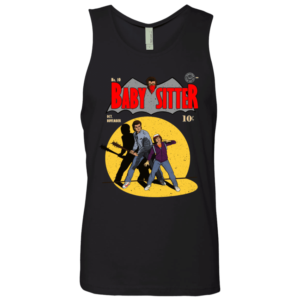 T-Shirts Black / S Babysitter Batman Men's Premium Tank Top
