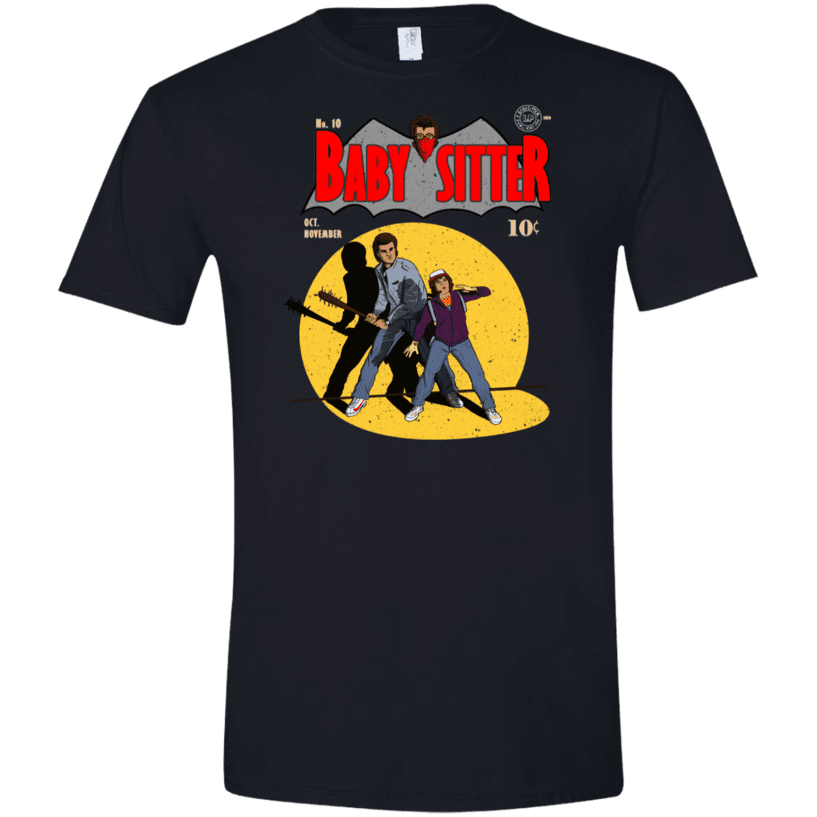 T-Shirts Black / X-Small Babysitter Batman Men's Semi-Fitted Softstyle