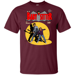T-Shirts Maroon / YXS Babysitter Batman Youth T-Shirt