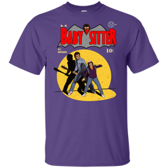 T-Shirts Purple / YXS Babysitter Batman Youth T-Shirt