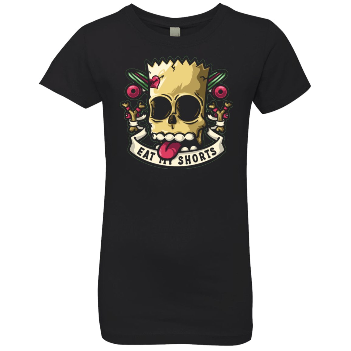 Bad to the Bone Girls Premium T-Shirt