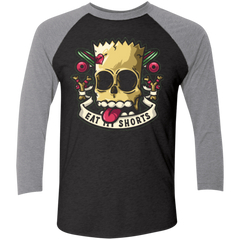 Bad to the Bone Men's Triblend 3/4 Sleeve