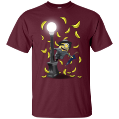 T-Shirts Maroon / YXS Banana Rain Youth T-Shirt