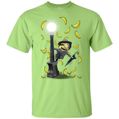 T-Shirts Mint Green / YXS Banana Rain Youth T-Shirt