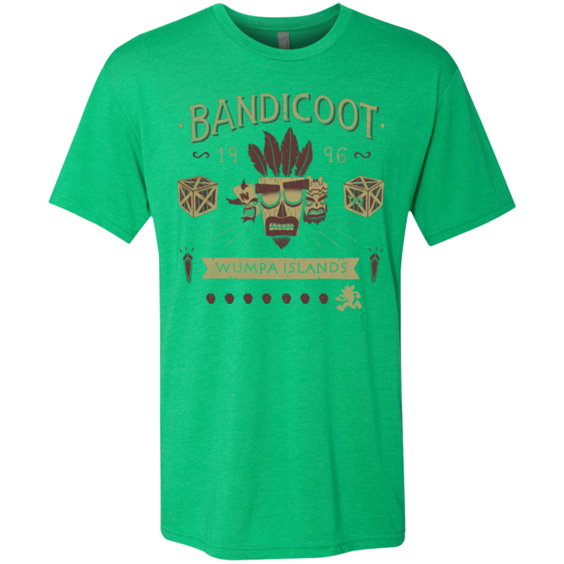 Bandicoot Time Men's Triblend T-Shirt