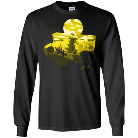 Banjo Kazooie Silhouette Men's Long Sleeve T-Shirt