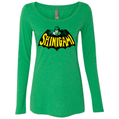 Bat Shinigami Women's Triblend Long Sleeve Shirt