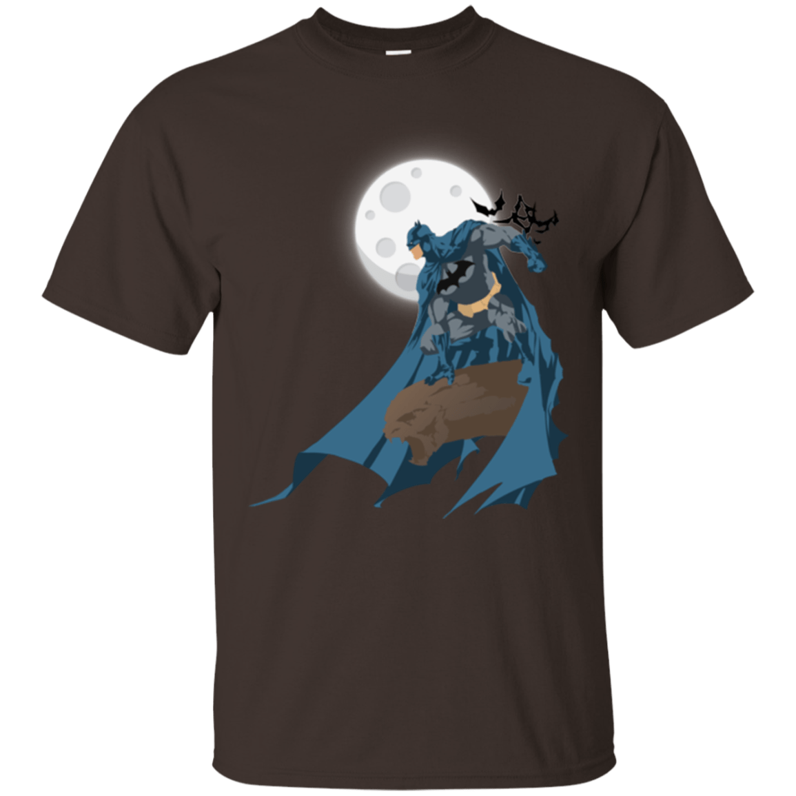 T-Shirts Dark Chocolate / Small Batman T-Shirt