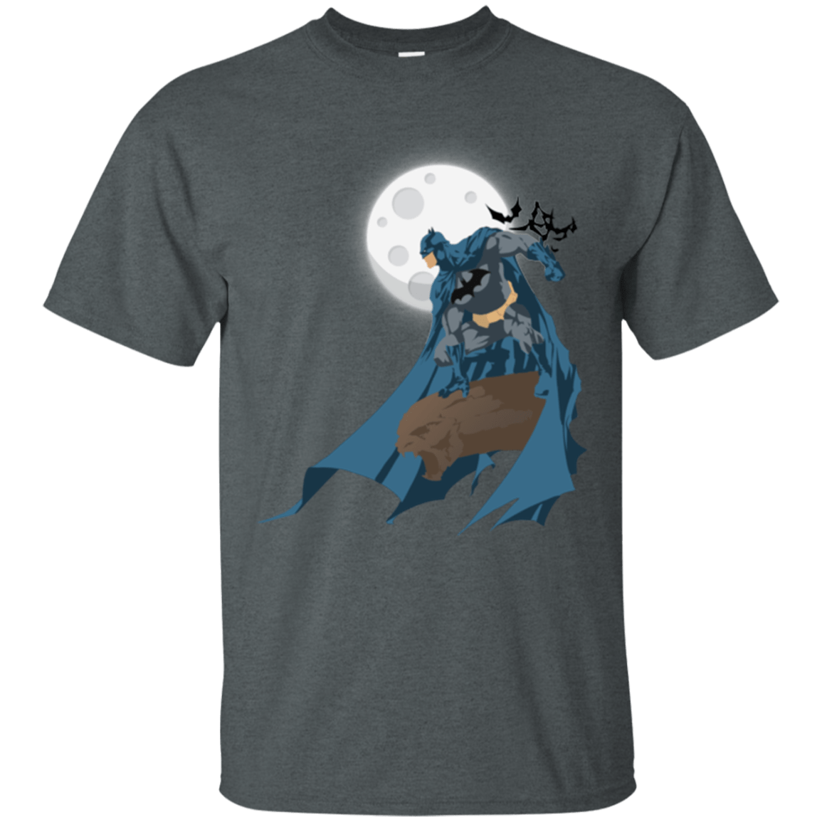 T-Shirts Dark Heather / Small Batman T-Shirt