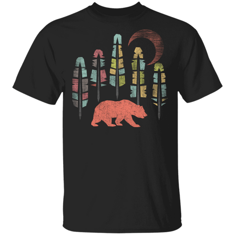 Bear Feathers T-Shirt