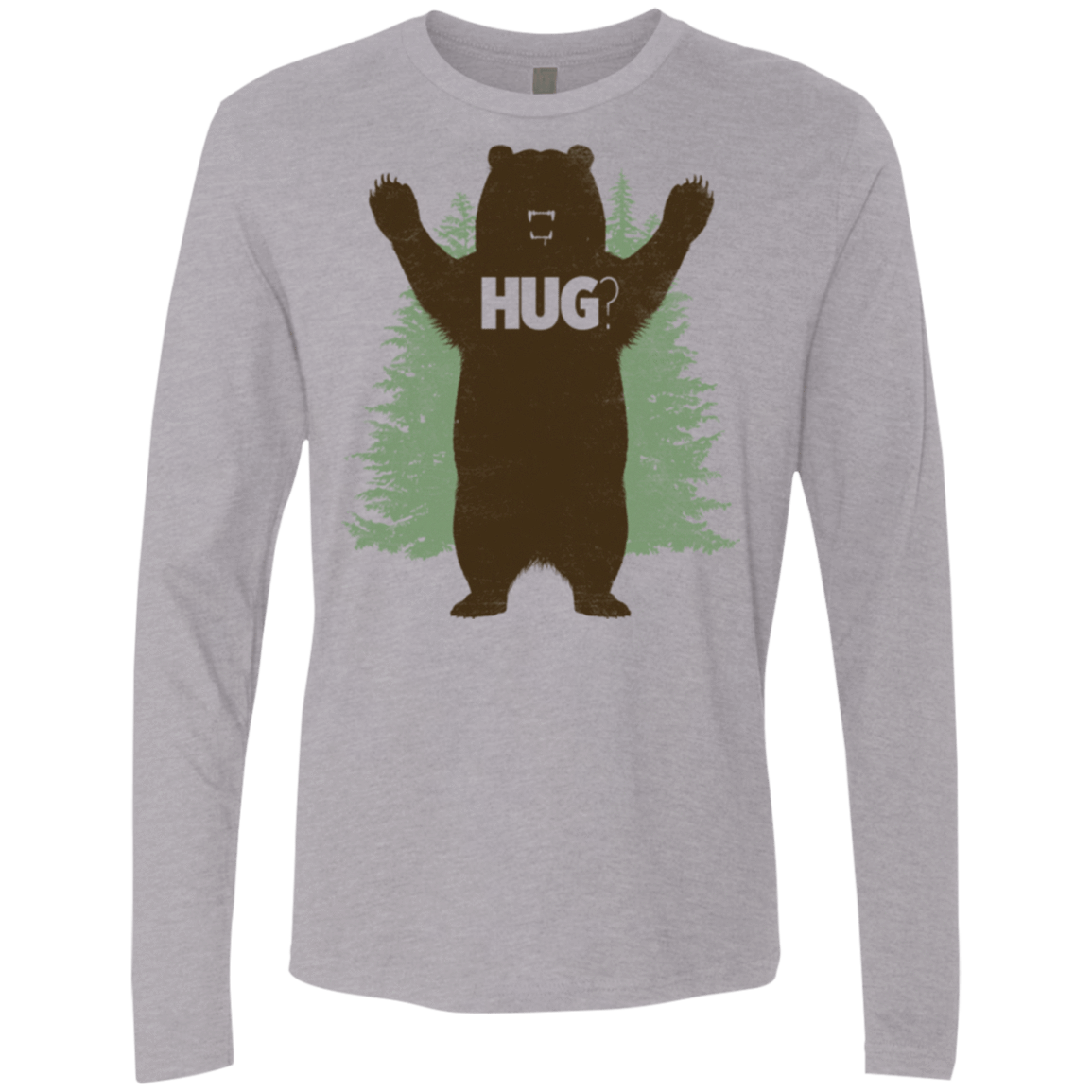 Bear Hug Men's Premium Long Sleeve