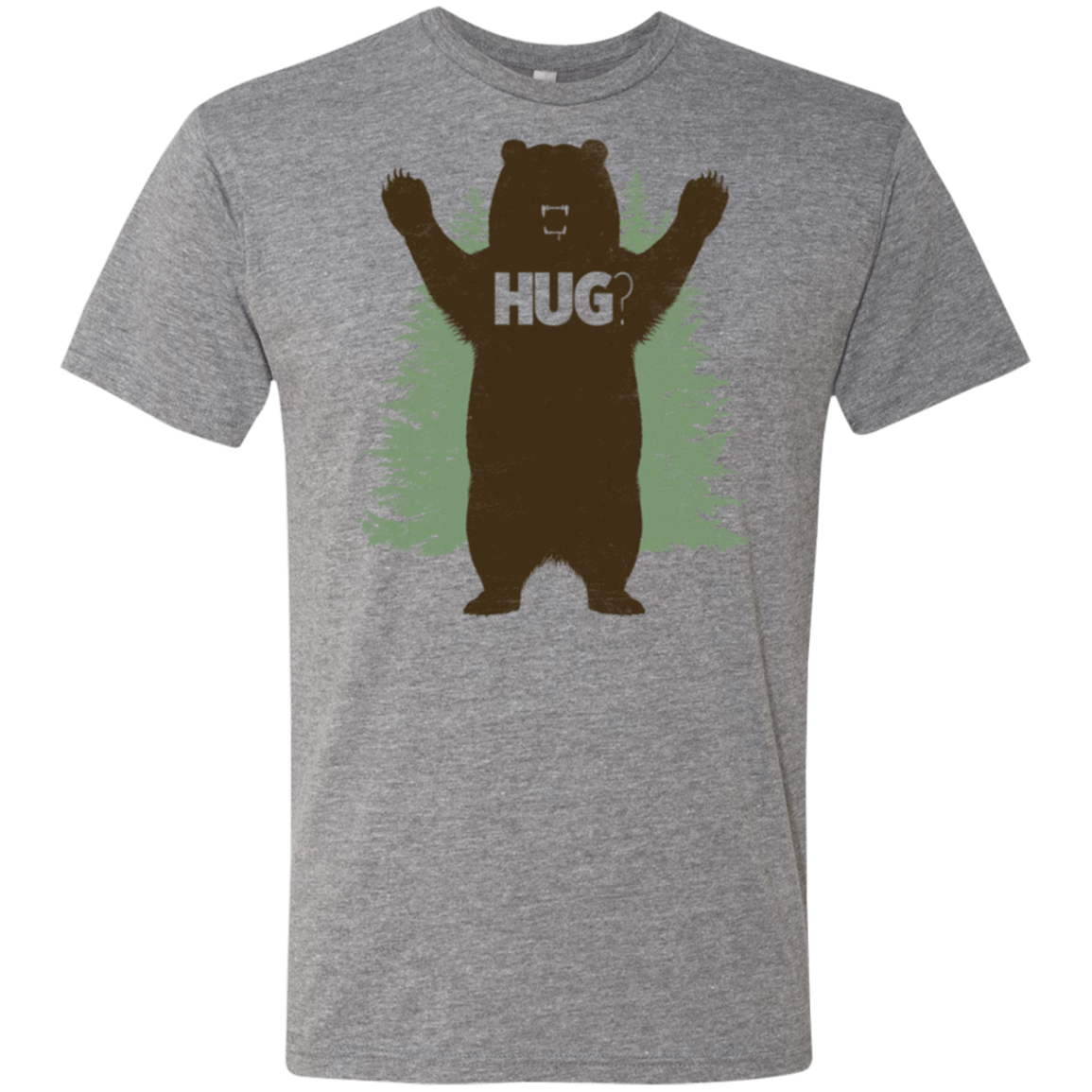 Bear Hug Men's Triblend T-Shirt
