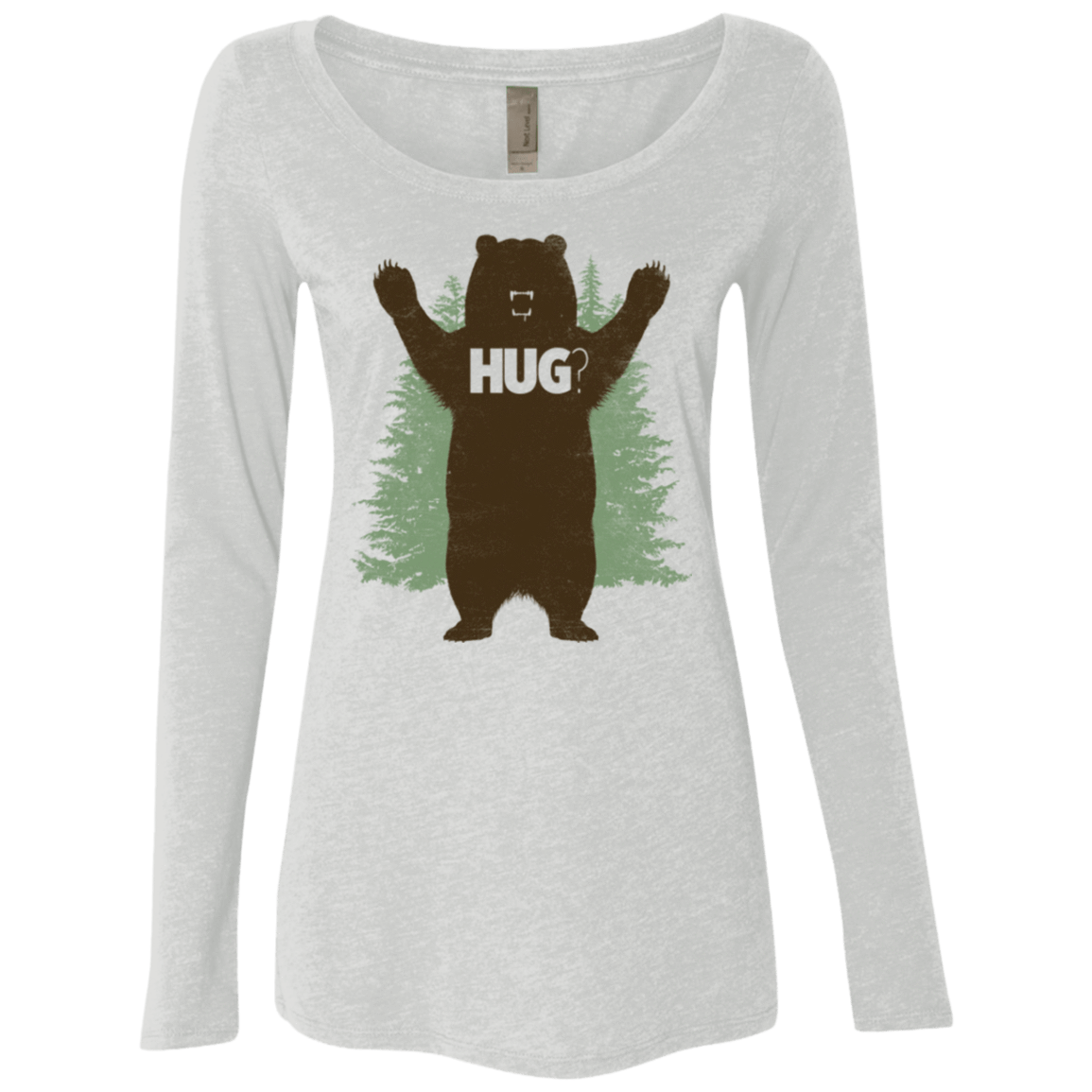 Bear Hug Women's Triblend Long Sleeve Shirt