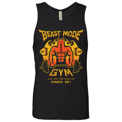 Beast Mode Gym Men's Premium Tank Top