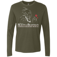 Beauty and the Beastman Men's Premium Long Sleeve