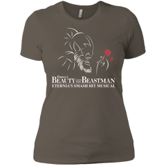 Beauty and the Beastman Women's Premium T-Shirt