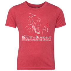 Beauty and the Beastman Youth Triblend T-Shirt