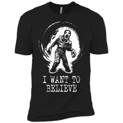 Believe in Flukeman Boys Premium T-Shirt
