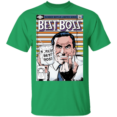 T-Shirts Irish Green / S Best Boss T-Shirt