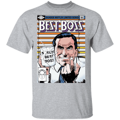 T-Shirts Sport Grey / S Best Boss T-Shirt