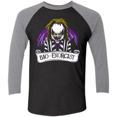 Bio exorcist Men's Triblend 3/4 Sleeve