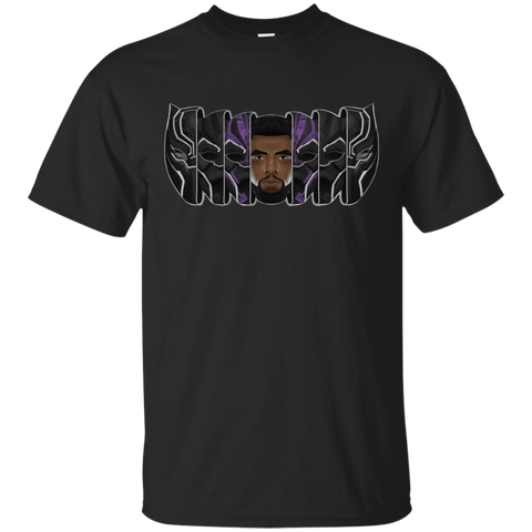 T-Shirts Black / S Black Panther Mask T-Shirt