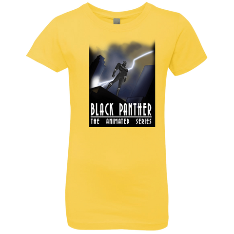 Black Panther The Animated Series Girls Premium T-Shirt