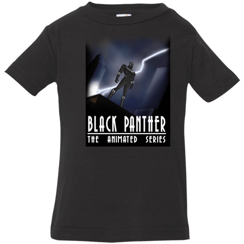 T-Shirts Black / 6 Months Black Panther The Animated Series Infant Premium T-Shirt