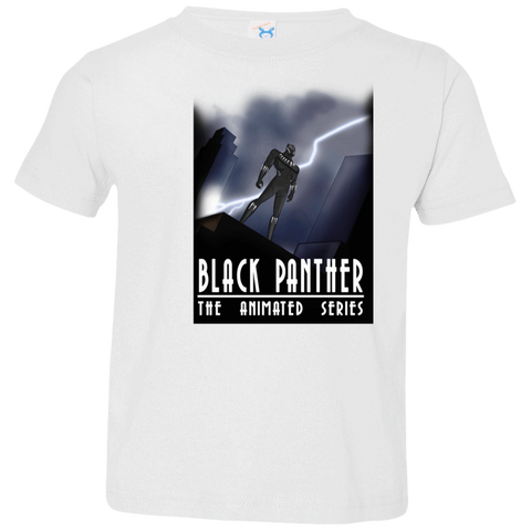 Black Panther The Animated Series Toddler Premium T-Shirt