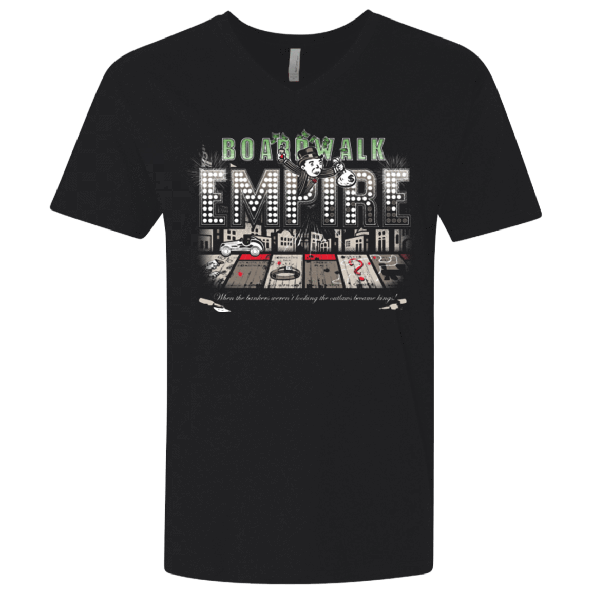 Boardwalk Empire Men's Premium V-Neck