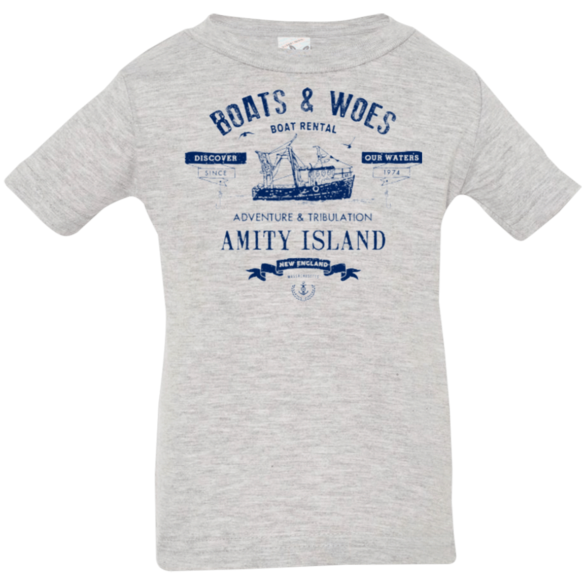 BOATS & WOES Infant Premium T-Shirt