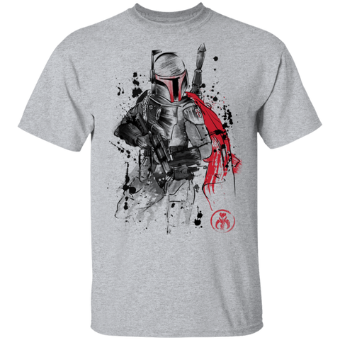 T-Shirts Sport Grey / S Bounty Hunter Sumi-E T-Shirt