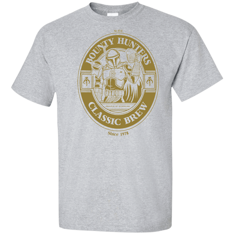 Bounty Hunters Classic Brew Tall T-Shirt