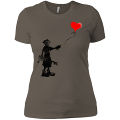 Boy and Balloon Women's Premium T-Shirt