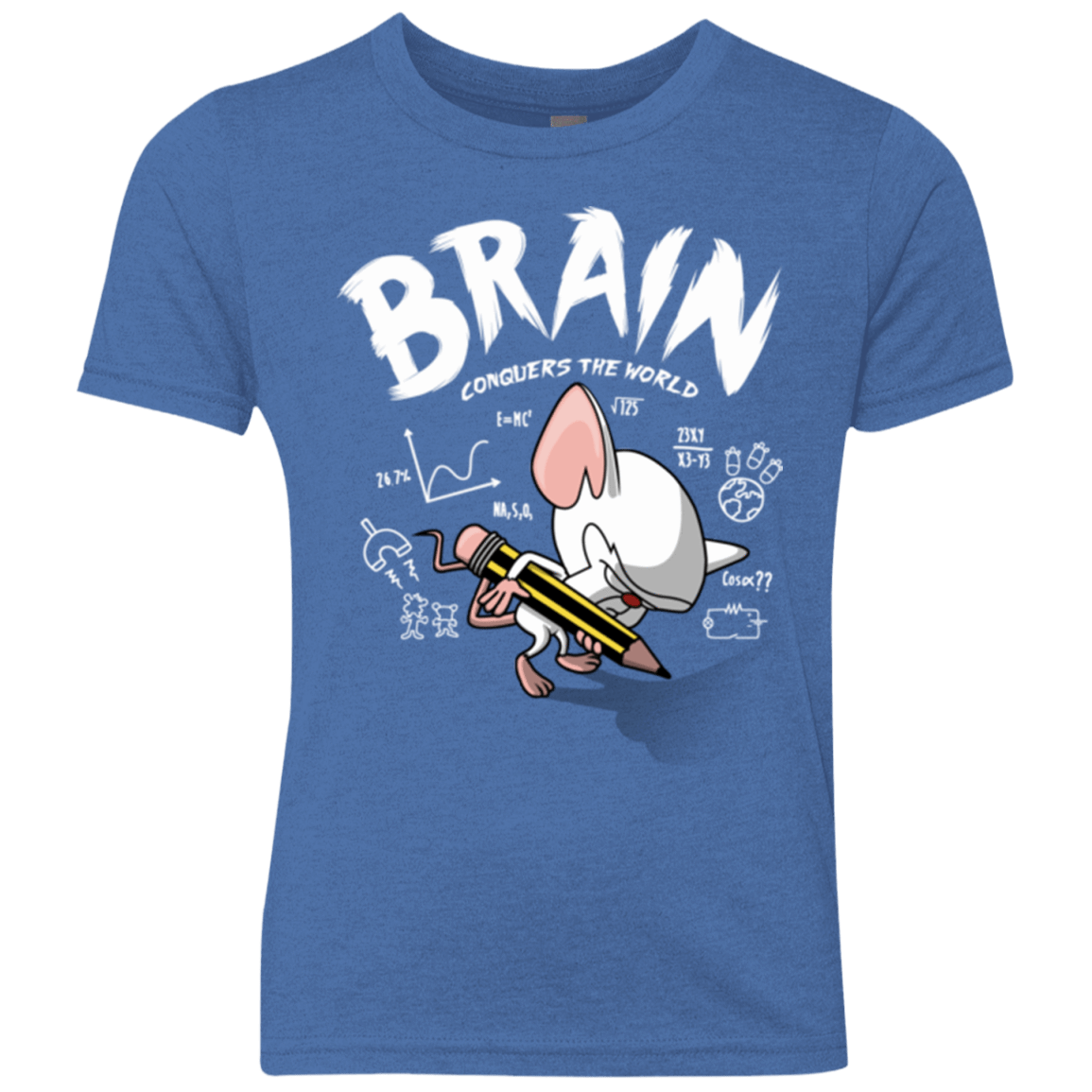 Brain vs The World Youth Triblend T-Shirt