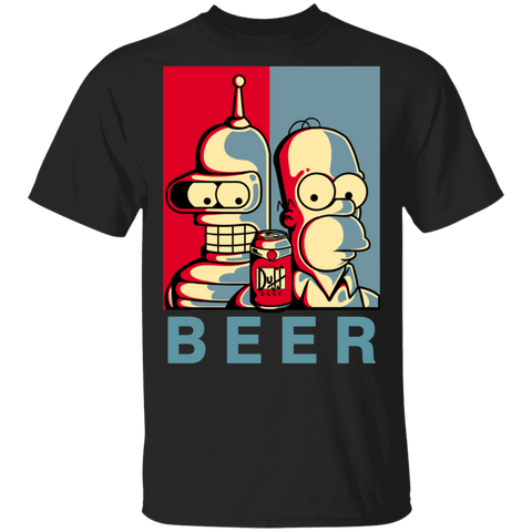 T-Shirts Black / S Brothers Beer T-Shirt