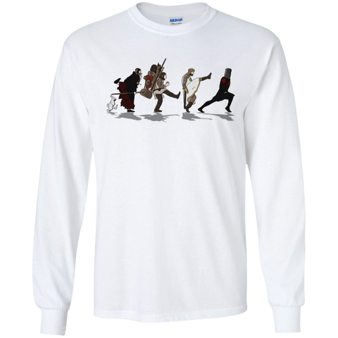 T-Shirts White / S Caminando Hacía El Grial Men's Long Sleeve T-Shirt