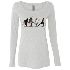 Caminando Hacía El Grial Women's Triblend Long Sleeve Shirt