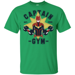T-Shirts Irish Green / S Captain Gym T-Shirt