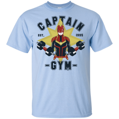 T-Shirts Light Blue / S Captain Gym T-Shirt