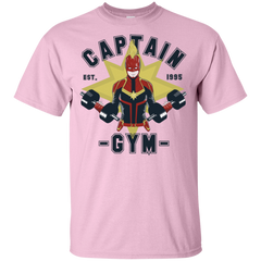 T-Shirts Light Pink / S Captain Gym T-Shirt