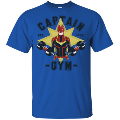 T-Shirts Royal / S Captain Gym T-Shirt